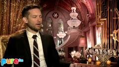 Pure Fm : GATSBY : TOBEY MAGUIRE INTERVIEW (HD)