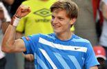 David Goffin et Aude Aguilaniu dans le Week-end sportif