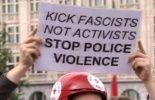 Manifestation contre la violence policière à Bruxelles