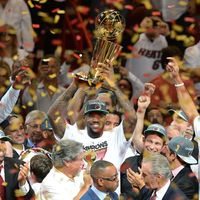 Miami et lebron James sacré champion NBA
