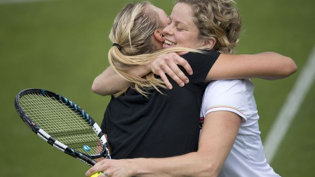 Sharapova et Clijsters
