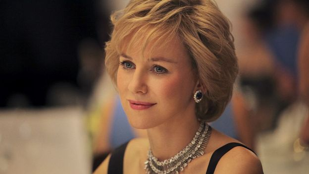 "Naomi Watts crédible en Lady Di pour le film ""Caught in Flight""."