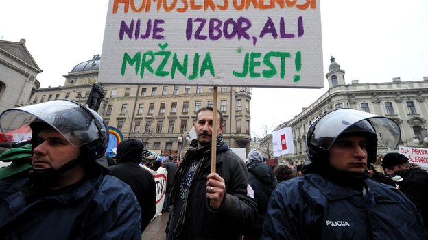 Un référendum contre le mariage gay en Croatie