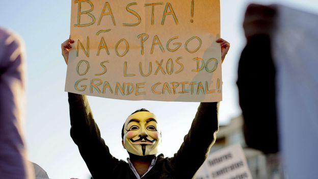 Grève générale au Portugal