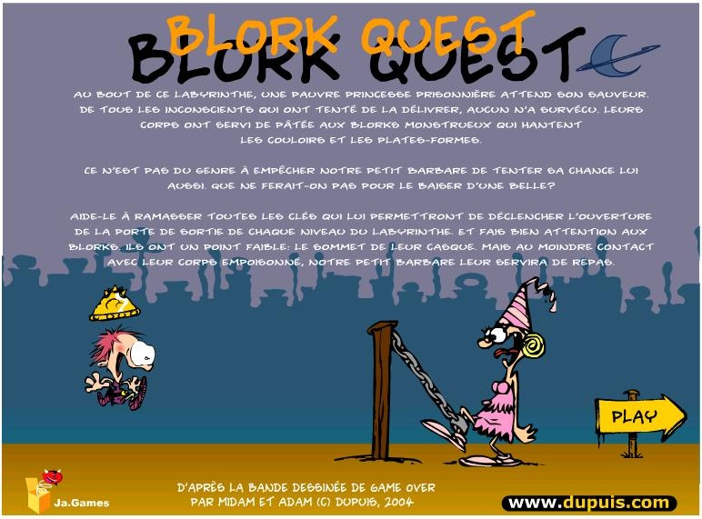 Kid Paddle : Blork Quest