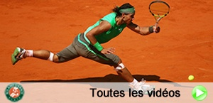 Toutes les vidos de Roland Garros
